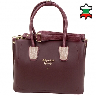 Women's leather bag 33793