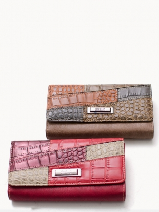 Elegant stylish leather wallet M507-2