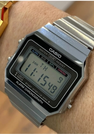 Ceas unisex Casio Casio A700WE-1AEF