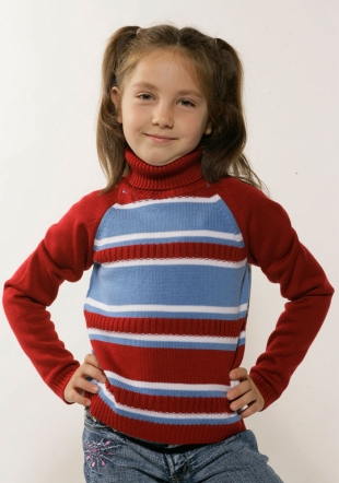 Blue and red kids sweater Z-06/07