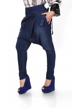 Women's wide bottom jeans Avangard