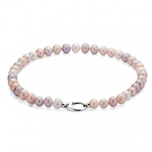 Fresh water  pearls necklace 11-12mm R1010NM Swan