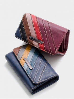Elegant leather wallet M605-1