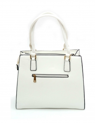 Women's white bag 826