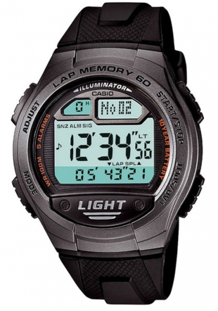 Мъжки часовник Casio 10 years Battery Life W-734-1AVEF
