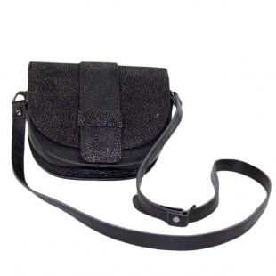 Women's small leather bag with long strap EmiSmall1