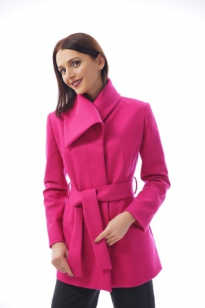Women's casual coat color cyclamen Radeks