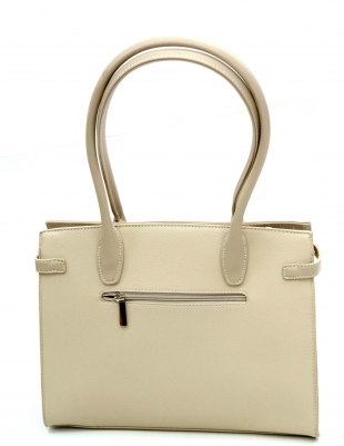 Women's white bag 82112-1