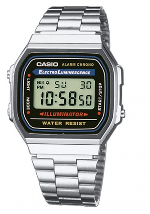 Unisex watch Casio A168WA-1YES