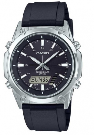 Men's watch Casio AMW-S820-1AV Solar Power