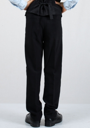 Elegant black kids trousers RUMENA
