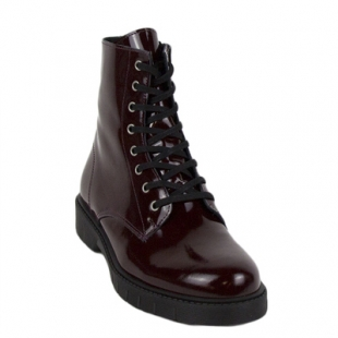 Ladies boots type Martin12bordo burgundy 35 to 41 size