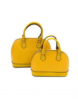 Women's yellow bag 82161