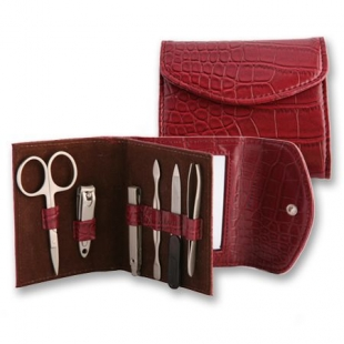Makeup Manicure Set Bordo New Wish
