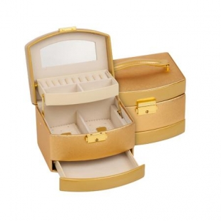 Jewelry box Gold golden Rossi