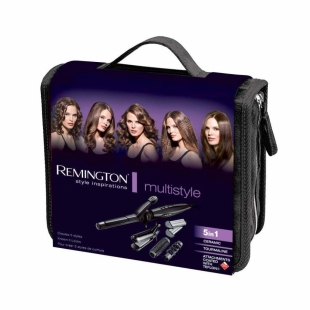 Hairstyle set with attachment for curls, spirals and waffles Remington S8670