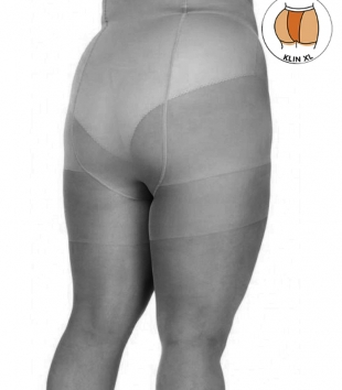 Plus size black tightening effect tights 20 DEN model 122