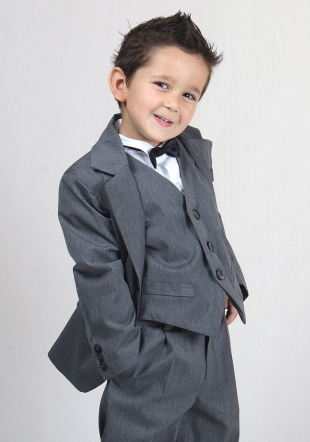 Grey Elegant Suit RUMENA