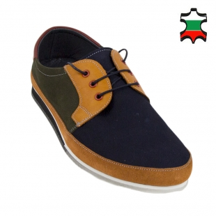 Men's suede leather shoes 33830