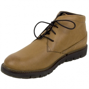 Men's camel colour leather boots Josef Seibel 20580
