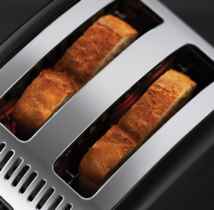 Legacy Floral 2SL Toaster Russell Hobbs