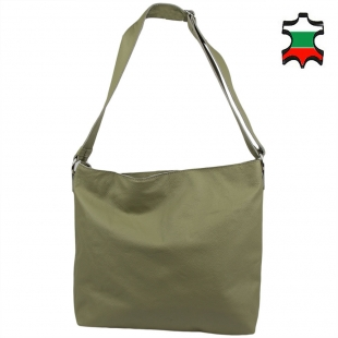 Women's leather bag 33789