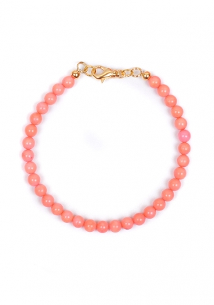 Delicate Design Bracelet Made of Corals Dannyra Jewels