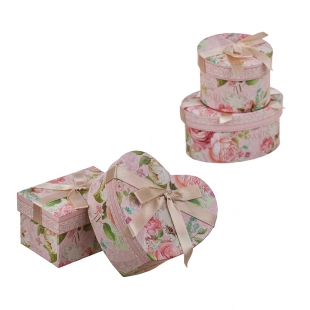 "Gift Box Set ""Rose Garden"" New Wish"