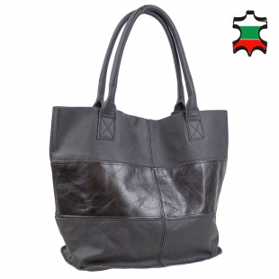 Women's leather bag 33818