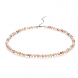 Fresh water pearls necklace 5.5-6mm R0435NM Swan