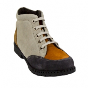 Women's boots with zipper in three colors 828-51