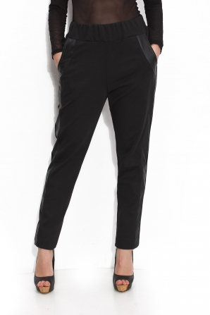 Women's trousers with pockets and elastic waistband Avangard