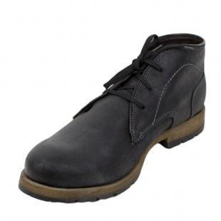 Men's dark blue leather boots with warm lining Josef Seibel 20567
