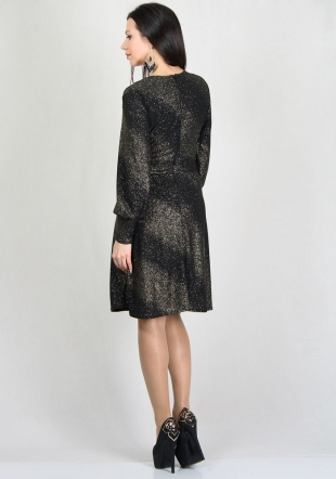 Elegant sparkling dress with RUMENA