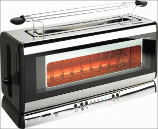 Prajitor de paine Clarity Glass Toaster Russell Hobbs