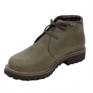 Men's green nubuck leather boots Josef Seibel 20578