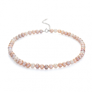 Fresh water pearls necklace 8-8,5mm R04388NM Swan