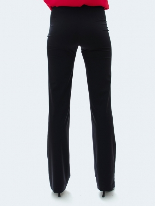 Elegant women's trousers with wide trouser 61911-900