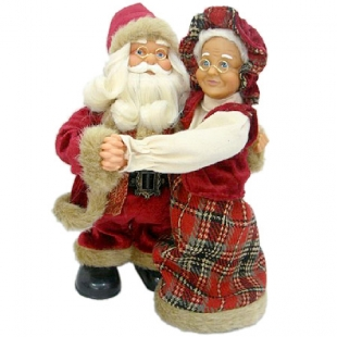 Christmas figure Santa Claus with Grandma Dims