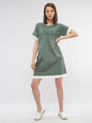 Women's sports green dress 8240
