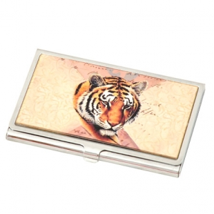 "Business Card Holder ""Tiger"" New Wish"