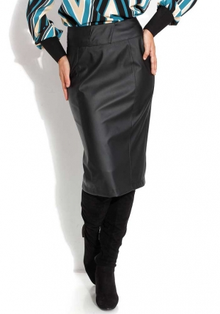 Women's eco leather skirt Avangard