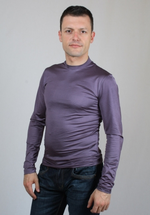 Purple longsleeve top Sison