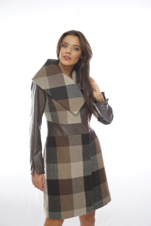 Women wool coat 11910-T2