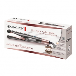 Straightening and curling hair straightener S6606 Remington Curl and Straight Confidence