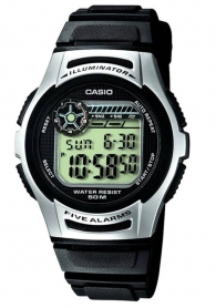 Мъжки часовник Casio 10 years Battery Life W-213-1AVES