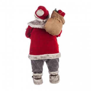 Christmas figure of Santa Claus 60 cm high. Dims