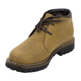 Men's camel colour leather boots Josef Seibel 20577