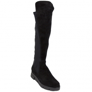 High suede boots Women Stretch 34258