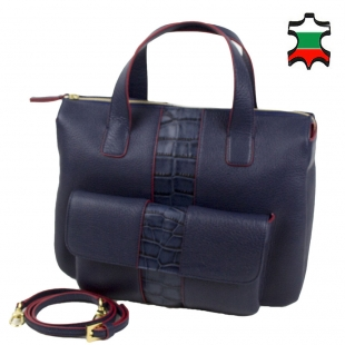 Women's leather bag 33791
